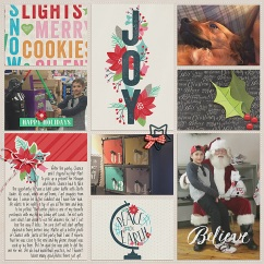 December Collection by Pixels and Company Pocket Pages by Gennifer Bursett