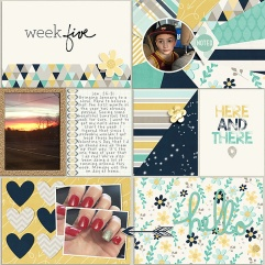 Pocket Life '15: January Collection by Traci Reed Weekly Edition Journaling Cards (brushes) by One Little Bird