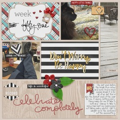 Pocket Life '15 Collection by Traci Reed Weekly Edition by One Little Bird Outside the Box v2 Template by Gennifer Bursett