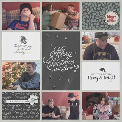 Dear Santa Collection by Sahin Designs and Anita Designs Back to Basics Template by Gennifer Bursett