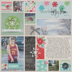 December 2015 Collection by Pixels and Company Pocket Pages Template by Gennifer Bursett Weekly Edition by One Little Bird
