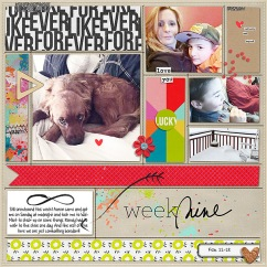 For Like Ever by Valorie Wibbens For Like Ever Journal Cards by Valorie Wibbens Sprinkles V33 by Valorie Wibbens Pocket Topography No. 1 by Valorie Wibbens
