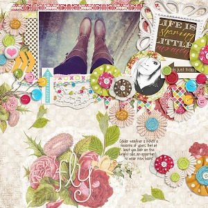 Hodge Podge by Etc by Danyale Fuss Free: My Scrapbook Art by Fiddle-Dee-Dee