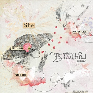 ArtBook - Beautiful by Val C. Designs