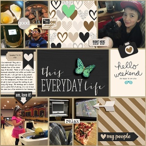 Sweet Everyday by Sweet Shoppe Designs Inspired by a Story starter from Simple Scrapper Premium Membership