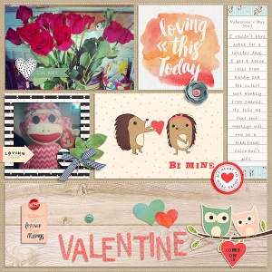 Loverly - February Collection by P&Co Designers Outside the Box v2 by Gennifer Bursett