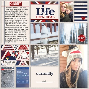 Pocket Life '15: February Collection by Traci Reed Out of the Box v2 by Gennifer Bursett Weekly Edition by One Little Bird