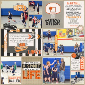 3 Point Shot and 3 Point Shot Cards by Traci Reed 365Unscripted Plastic Stitched Grids by Traci Reed