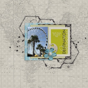 Destination Mini Kit by Amy Wolff Messy Marvin Vol. 5 by Amy Wolff