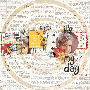 Messy Bun Kind of Day by Etc. By Danyale Laid Out by Amy Martin
