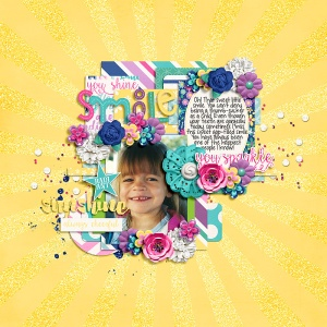Little Miss Sunshine by Traci Reed In the Garden by Two Tiny Turtles