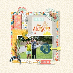 Free Spirit - September Subscription Collection by Pixels and Company Blueprint No. 6 by Gennifer Bursett