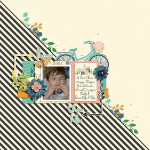 Beautiful Life by River~Rose Quick Scraps vol. 06 by Anita Designs