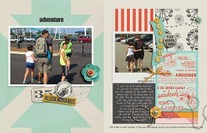 Enjoy the Ride Kit and Journal Cards by ForeverJoy Designs Template and Story Starter from Simple Scrapper Premium Membership