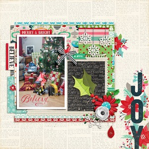Believe: December 2015 Collection by Pixels and Company Blueprint No. 6 by Gennifer Bursett