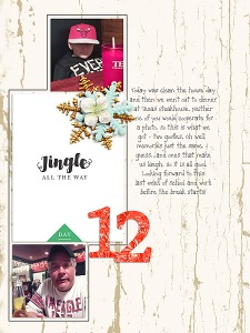 Joyous by Sahin Designs 31 Days in December by MEG Designs Alphabet Soup - Foil & Tinsel by Etc. by Danyale