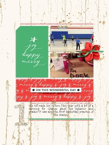 Joyous by Sahin Designs Dear Santa Templates by Anita Designs Alphabet Soup: Foil and Tinsel by Etc. by Danyale
