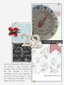 Dear Santa Collection by Anita Designs and Sahin Designs Alphabet Soup: Foil and Tinsel by Etc. by Danyale 31 Days in December Template by MEG Designs