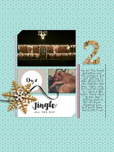 Joyous by Sahin Designs Dear Santa Templates by Anita Designs Alphabet Soup: Foil and Tinsel by Etc. by Danyale 31 Days in December by MEG Designs