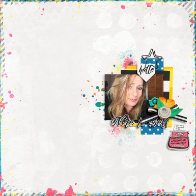 Note to Self Papers and Elements by River~Rose Good Day Templates by Sahin Designs