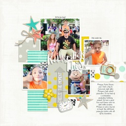 24 Seven Papers and Elements by Just Jaimee Template and Story Starter from Simple Scrapper Premium Membership