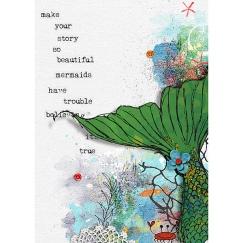 Let's Be Mermaids by Valorie Wibbens Sprinkles V43 by Valorie Wibbens