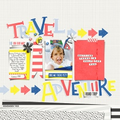Road Trip and August Template Storyteller Add-ons by Just Jaimee