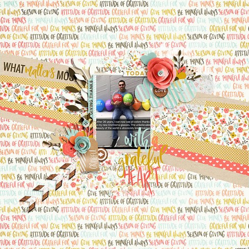 Grateful - Storyteller 2017 November Add-on by Just Jaimee Nov 2016 Sketched Template by Just Jaimee