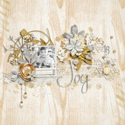 Silver and Gold Collection by River~Rose Mix It Up Vol 2 by Crystal Livesay