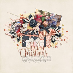 Mod Holiday by River~Rose Christmas Wishes Templates by Crystal Livesay