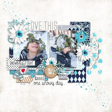 Snow Fun by Just Jaimee November 2016 Storyteller Template by Just Jaimee