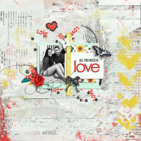 All You Need Is Love by River~Rose January Foundations by Crystal Livesay