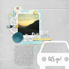 Travelogue - August 2016 Storyteller Add-on by Just Jaimee and Laura Passage Template from Simple Scrapper