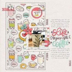 Coffee Break by Just Jaimee Template from Simple Scrapper
