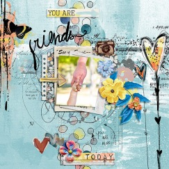 Dear Karma No2: Innercircle Kit by Etc by Danyale and Little Butterfly Wings Template from Simple Scrapper