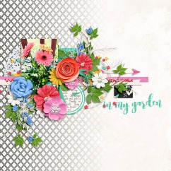 In My Garden by River~Rose Mix it Up V3 by Crystal Livesay