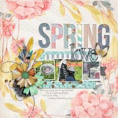 Vintage Spring Papers by Etc. by Danyale Vintage Spring Elements by Etc. by Danyale Embroidered Alpha by Just Jaimee Clean and Simple n29 by Sabrina's Creations