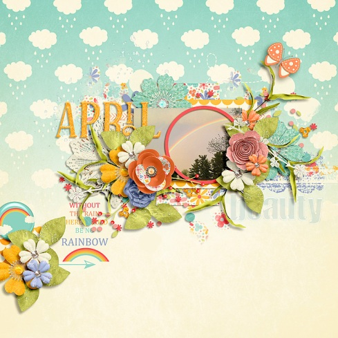 April Rains Collection by River~Rose Mix It Up Vol. 3 by Crystal Livesay