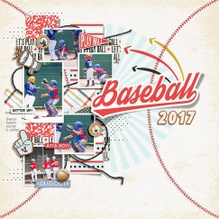 Let's Play Ball! by Just Jaimee Stacked Photo Templates - March 2017 by Just Jaimee