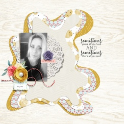 Do It for Yourself by Sabrina's Creations Contour Templates by Scrapping with Liz