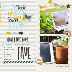 Favorite Things - Storyteller February 2018 Add-on by Just Jaimee Favorite Things Journal Cards - Storyteller February 2018 Add-on by Just Jaimee Template from Simple Scrapper Premium Membership