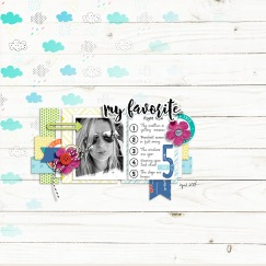 Top 5 - The Digital Press Collaboration Quick Scraps Vol. 6 by Anita Designs