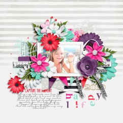 A Happy Life Collection by River~Rose Bingo: June 2018 Templates by Crystal Livesay