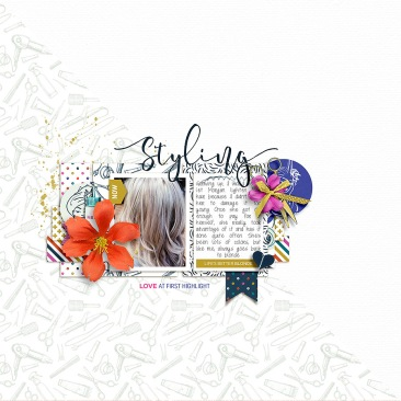 Styling Elements by KimB Designs Styling Papers by KimB Designs Quick Scraps Vol. 6 by Anita Designs
