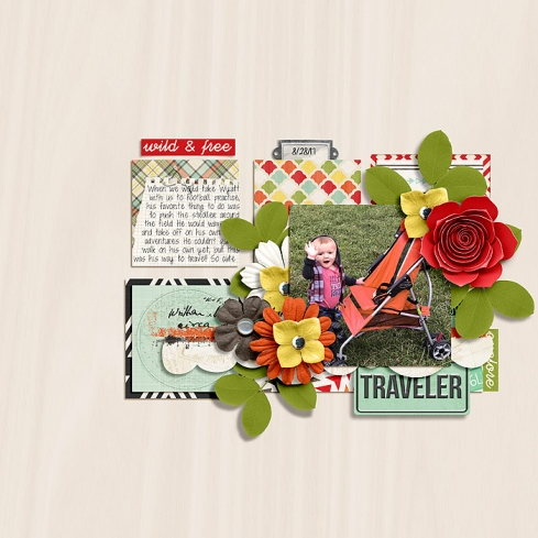 Travel the World Collection by River~Rose Insta Scraps Templates by Crystal Livesay