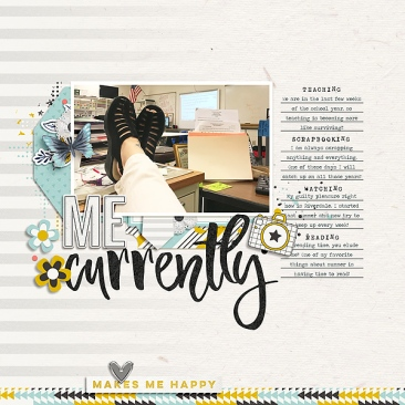 Favorite Things by Just Jaimee Office Space Word Art by Just Jaimee Template from Simple Scrapper