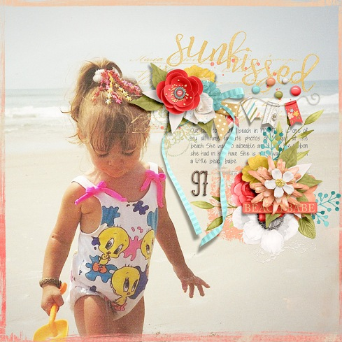 Sunkissed Collection by River~Rose Bingo: July2018 Templates by Crystal Livesay