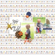 Wild Child Papers by Rachel Etrog Designs Wild Child Elements by Rachel Etrog Designs May 2018 Layout Templates by Sahin Designs