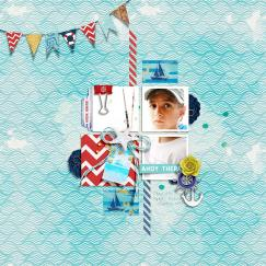 Anchors Away | Papers by Rachel Etrog Designs Anchors Away | Elements by Rachel Etrog Designs Make It Count: August 2018 | Templates by Anita Designs