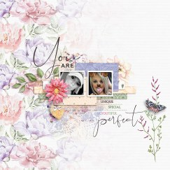 Just the Way You Are Papers and Elements by KimB Designs, Dreams Templates by Designed by Irma